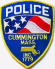Cummington Police Department patch